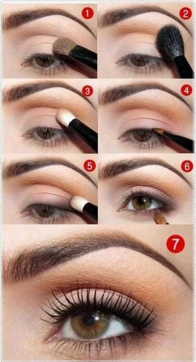 Сделать как натуральный макияж пошаговая инструкция с