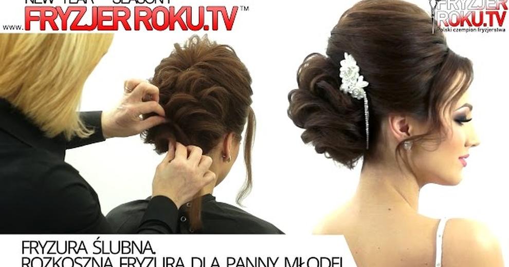 Посмотреть как сделать свадебную причёску