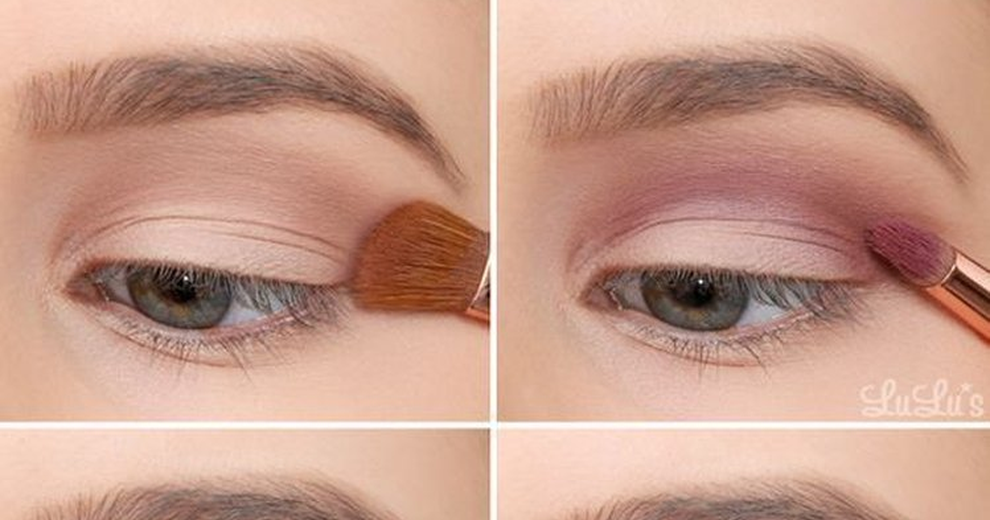 Eye makeup for over 40